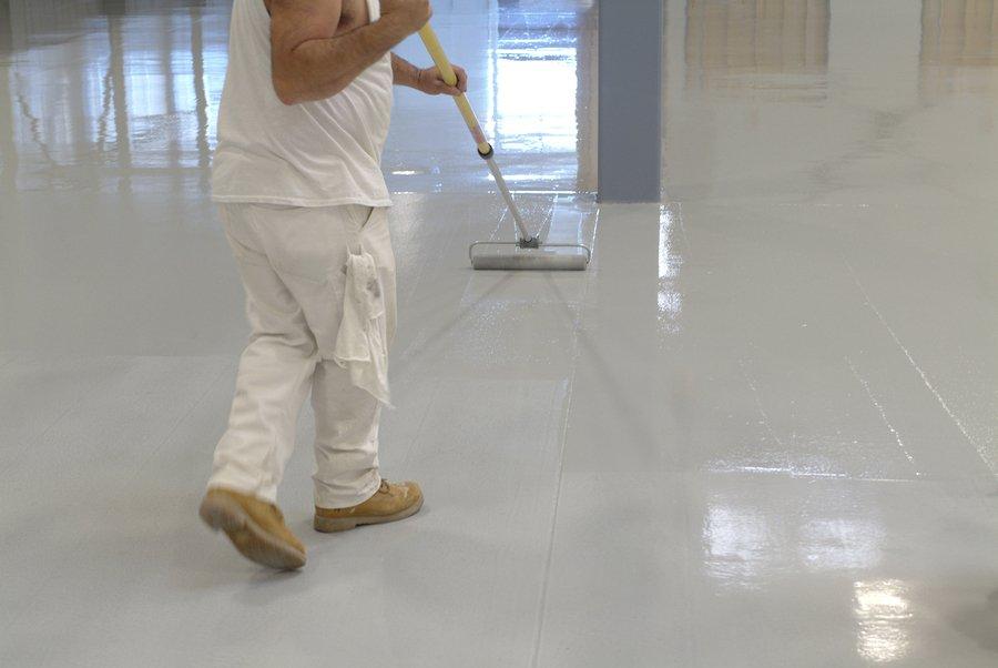 Epoxy Flooring San Antonio - Rollpaint