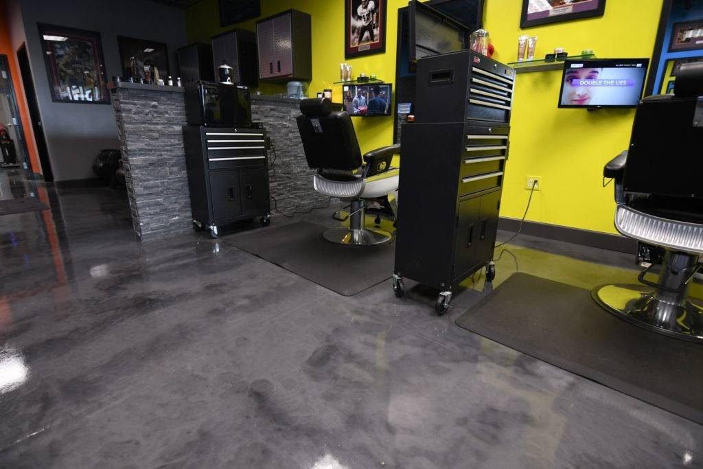 Epoxy Flooring San Antonio - Metallic Epoxy Floor 1