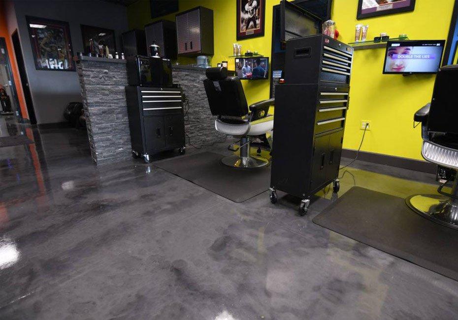 Epoxy Flooring San Antonio - Metallic Epoxy Floor