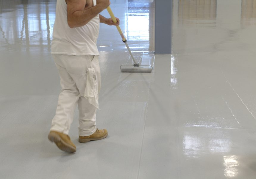Epoxy Flooring San Antonio - Rollpaint